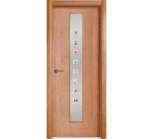 Межкомнатная дверь VP1 Вишня (под стекло)