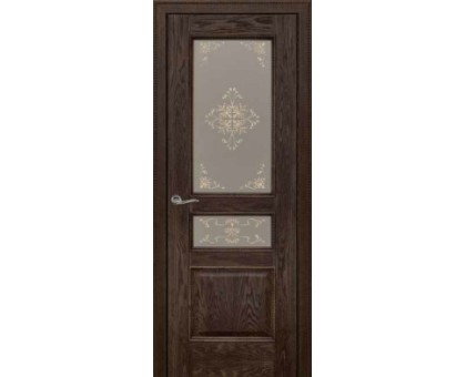 Межкомнатная дверь Граф ДО (морёный дуб)