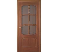Межкомнатная дверь LUVISTIL 737 Sapely Красное дерево (под стекло) полотно 725х2030
