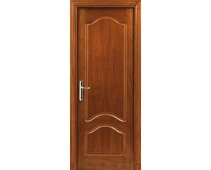Межкомнатная дверь LUVISTIL 736 Sapely Красное дерево (глухая)